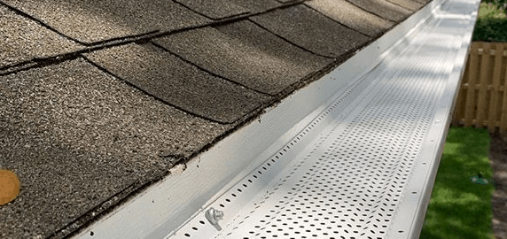 Newly Installed Gutter System